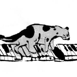 ネコとピアノ