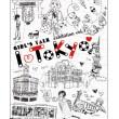 イラストレーター豊島宙 -Sora Toyoshima- / おしゃれなファッションイラストが得意です。かわいい女性向けのイラストもおしゃれな男性向けのイラストもお任せ下さい
