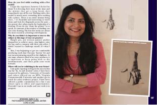 Soraya Sikander exlcusive interview featured in HELLO! Magazine
