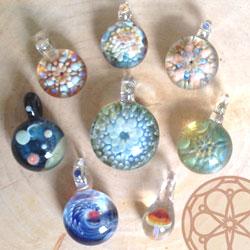 Green Glass - Glass Jewellery