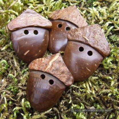 Acorn Buttons