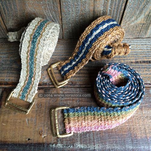 Stripe Woven Belt