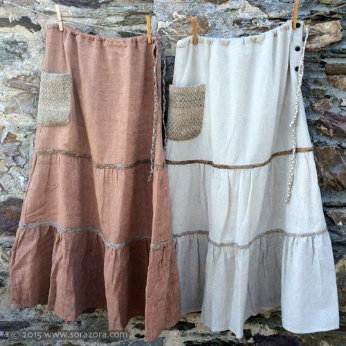 Nenrin Long Skirt