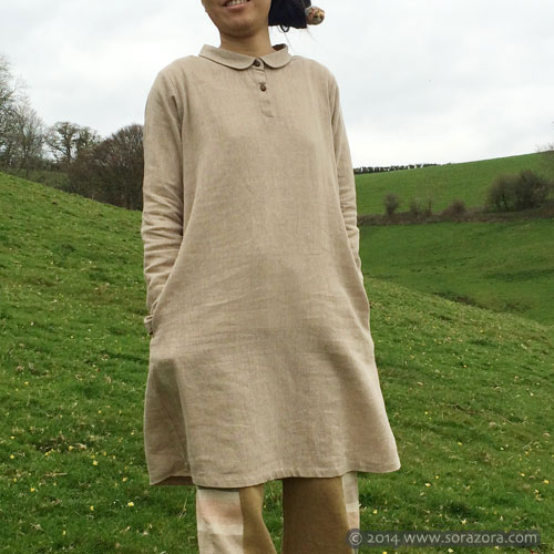 Pani Drop Shirt Dress