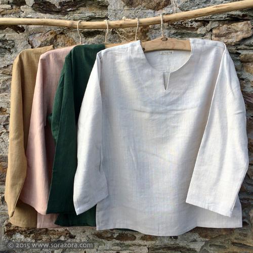 Hemp Cotton Natural Dye Kurta Shirt