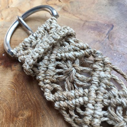 Flower Knotted Belt