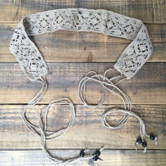Nettle Crochet Tying Belt