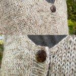Nettle Wool Cardigan