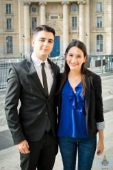 Vice-président & vice-présidente - Pablo Gonzalez & Gabriela Arboleda