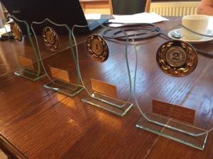 trophies at agm