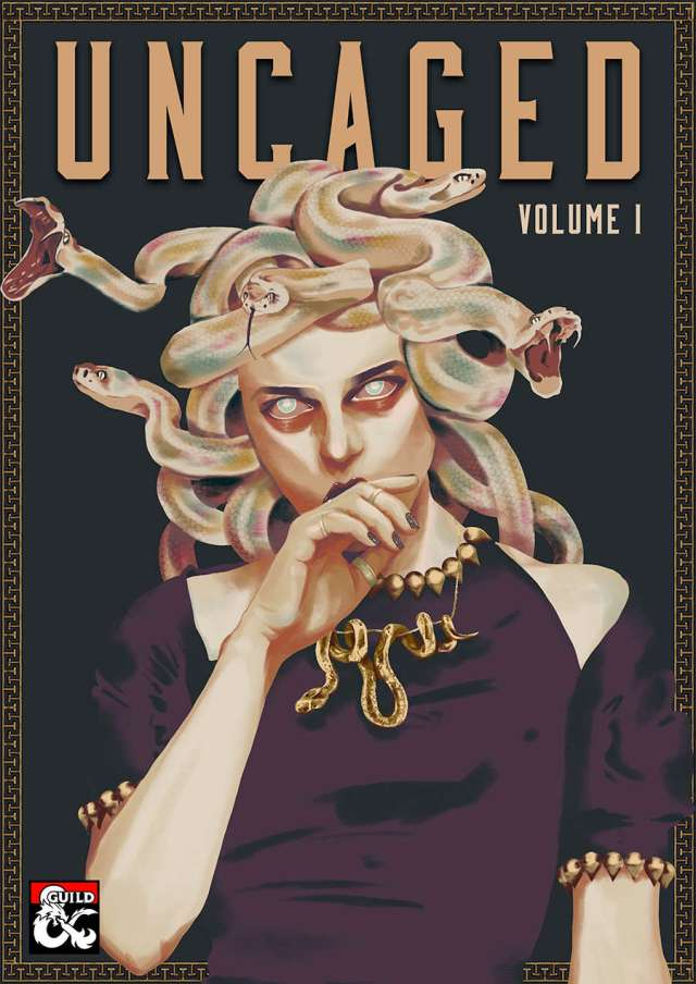 The Uncaged Anthology is an incredible compendium of 25 RPG adventures by some of the best creators around.