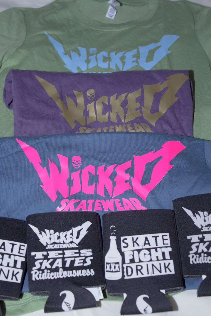 Wicked Skatewear prize pack