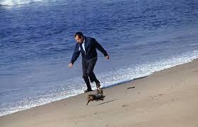 Nixon in San Clemente.