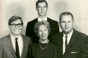 John Denver and family.