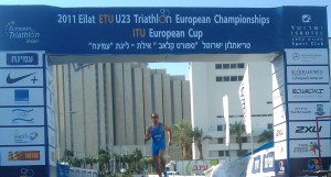 sorin boriceanu, triatlon, champion 2011, mamaia, Eilat ITU Triathlon European Cup 2011