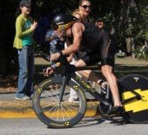 Lance Armstrong Iron Man 70.3 Panama