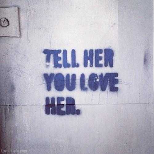 Iubește-o, bă, frumos!