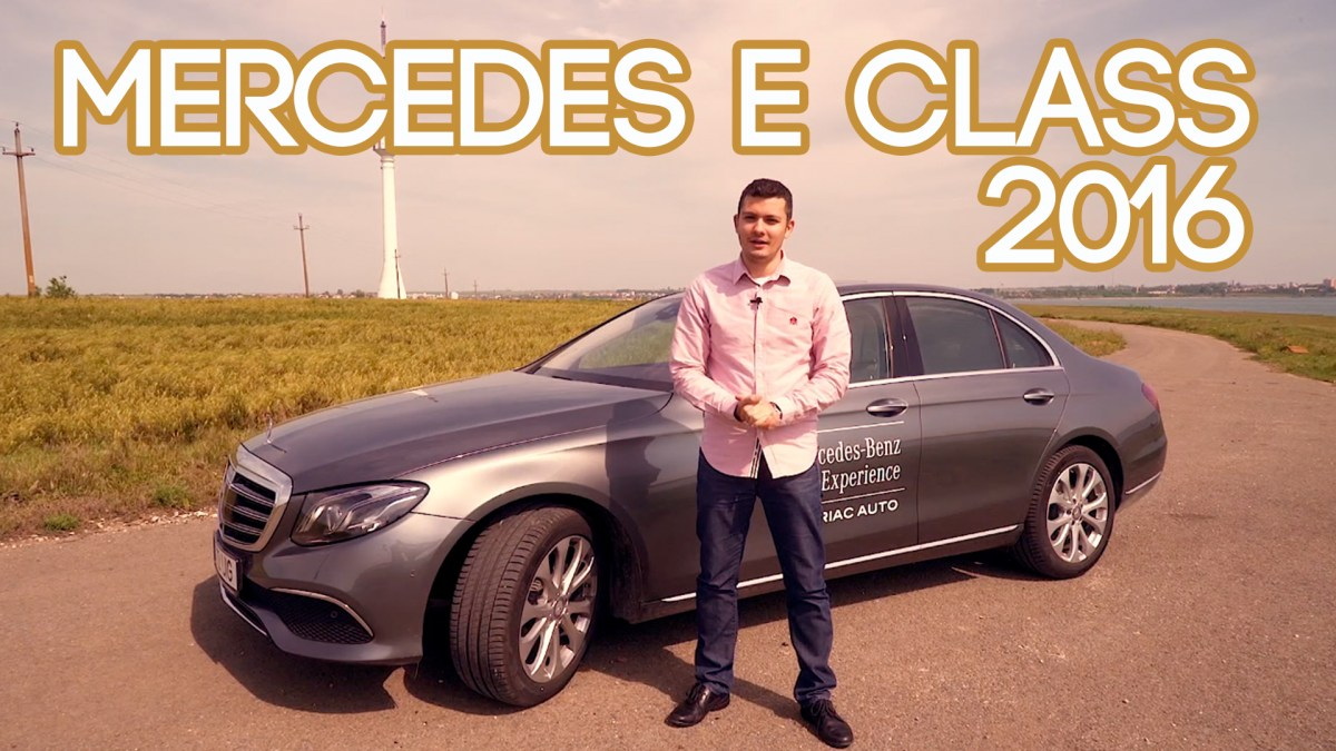 Review Mercedes Benz E Class 2016