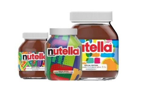 Nutella, ambalaj creat de un... algoritm