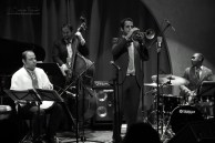 Jam night at Jazz at Lincoln Center Doha with Dominick Farinacci
