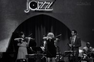 Jam night at Jazz at Lincoln Center Doha with Dominick Farinacci and violinists from Qatar Philharmonic Orchestra