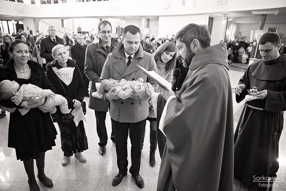 Chrzest Jasia w Lublinie