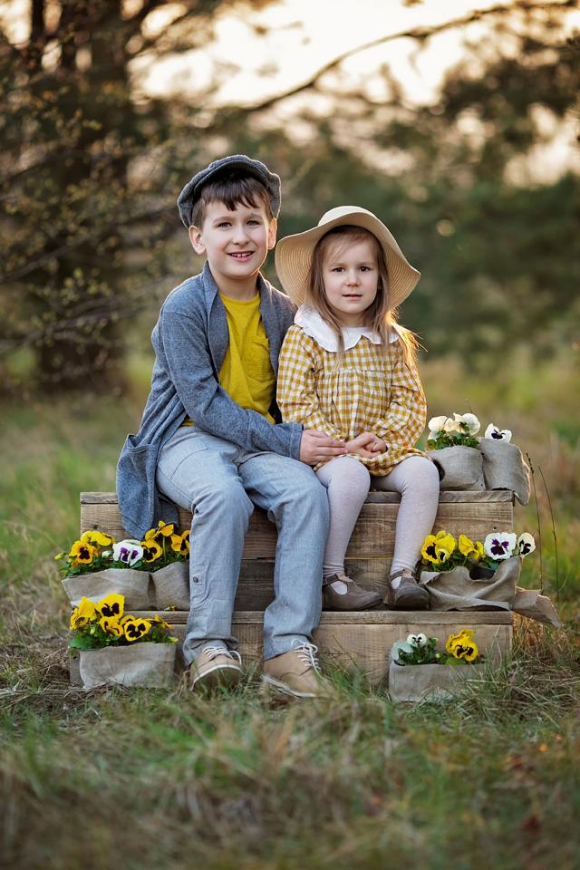 wiosenna sesja dziecieca Lublin Leczna 3