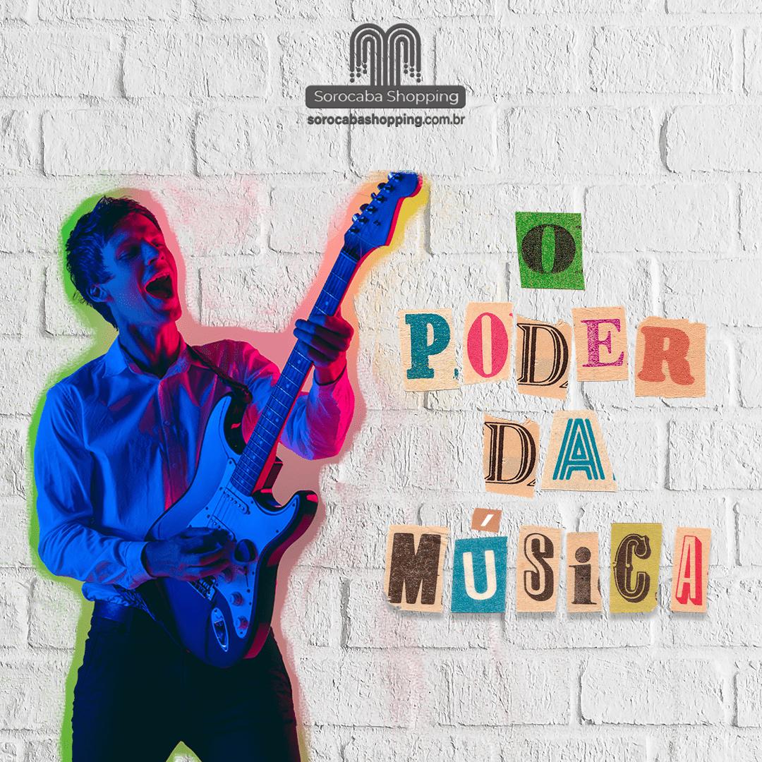 O poder da música