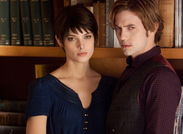 (L-R) ASHLEY GREENE and JACKSON RATHBONE star in THE TWILIGHT SAGA: BREAKING DAWN-PART 2 Ph: Andrew Cooper, SMPSP © 2011 Summit Entertainment, LLC. All rights reserved.