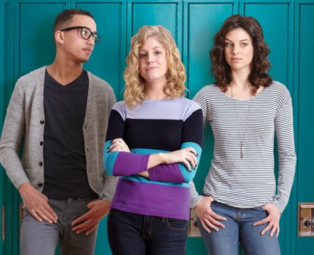 Az eredeti borító modelljei: Amy, Ryder és Sonny