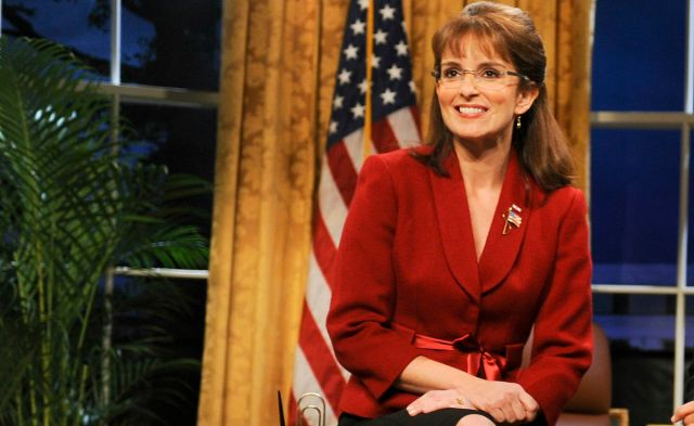 Tina Fey, mint Sarah Palin a Saturday Night Live-ban