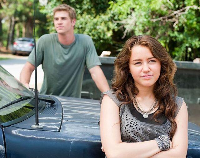Ahogy én elképzeltem: Amber és Liam   A fotón: Miley Cyrus és Liam Hemsworth