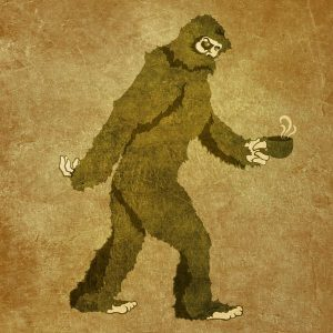 Bigfoot from Wendigo Tea Co. . . .There has been a sighting!