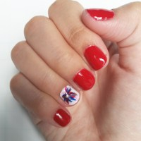 Easy 4th of July Nail Art - Sorority Fashion