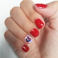 Easy 4th of July Nail Art
