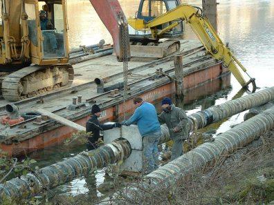 Palancolati per operazione sul lago