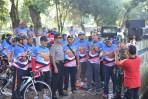Dandim 0824 Lepas Bendera Start Fun Bike Jalur Lintas Selatan