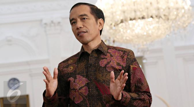 Jokowi Teken Perppu Kebiri Kimia Penjahat Seksual
