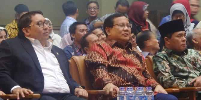 Prabowo ramaikan konser Revolusi Pancasila acara Ahmad Dhani