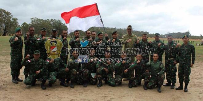 Petembak TNI AD di ajang AASAM