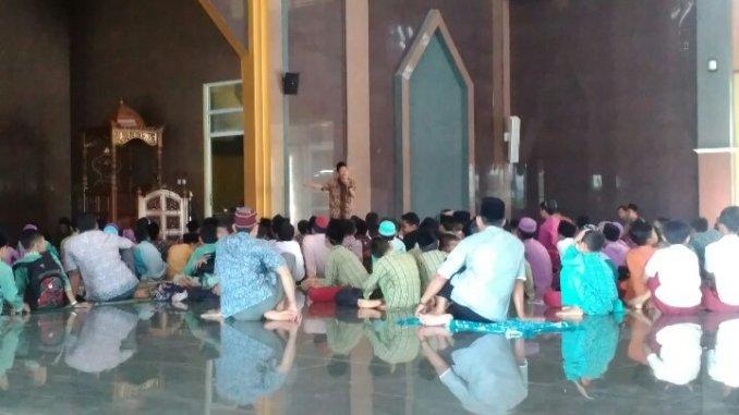 Dinas pendidikan kabupaten Sukabumi Dan Kabag Sarana Keagamaan Adakan Sanlat