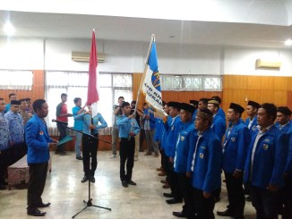Pelantikan PK KNPI Se-Wilayah IV kabupaten Sukabumi