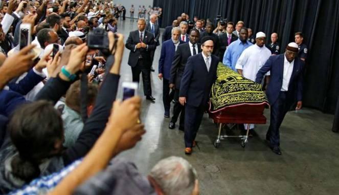 #Pemakaman Muhammad Ali, Sentuh Warga Kecil Sampai Presiden