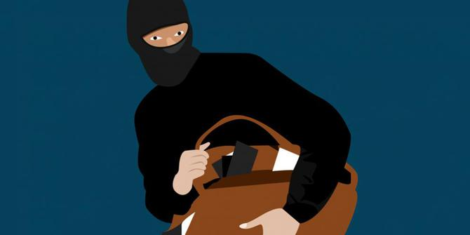 Pencuri Di Selamatkan Oleh Anggota Polsek Taraju Polres Tasikmalaya