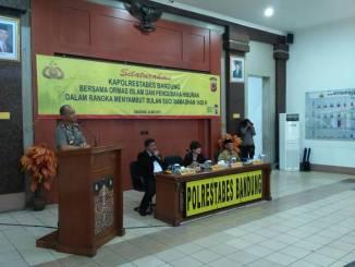 Silaturahmi Polrestabes Bandung