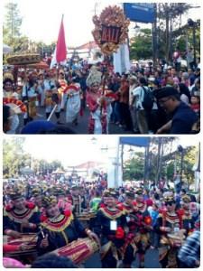 Bali ikut di karnaval kemerdekaan pesona parahyangan