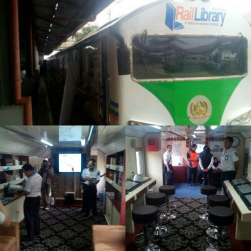 Peluncuran Rail Library di Kegiatan peluncuran Rail Clinic ke-4