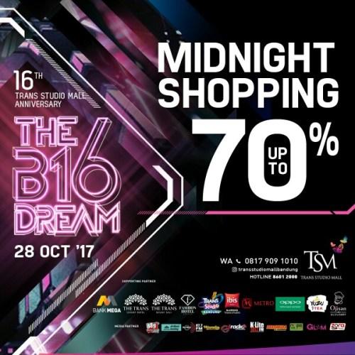 Midnight shopping di The B16 Dream