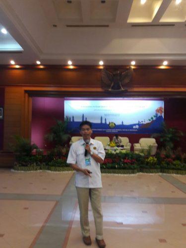 Agus Budianto Kepala Bidang Mitigasi Gerakan Tanah PVMBG Badan Geologi
