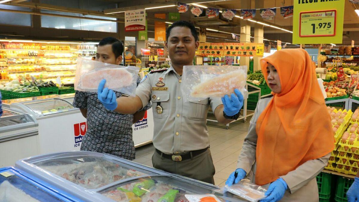 BKIPM dan Dispangtan Bandung Sidak Ikan Dori Impor